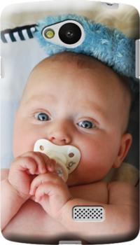 cover personalizzata Lg F60con neonato