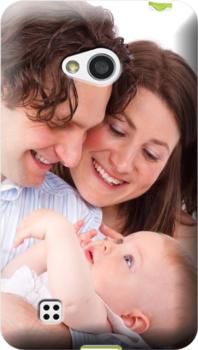 cover personalizzata Lg L50 mamma e papà