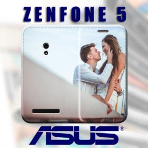 cover a libro e custodia personalizzata Zenfone 5