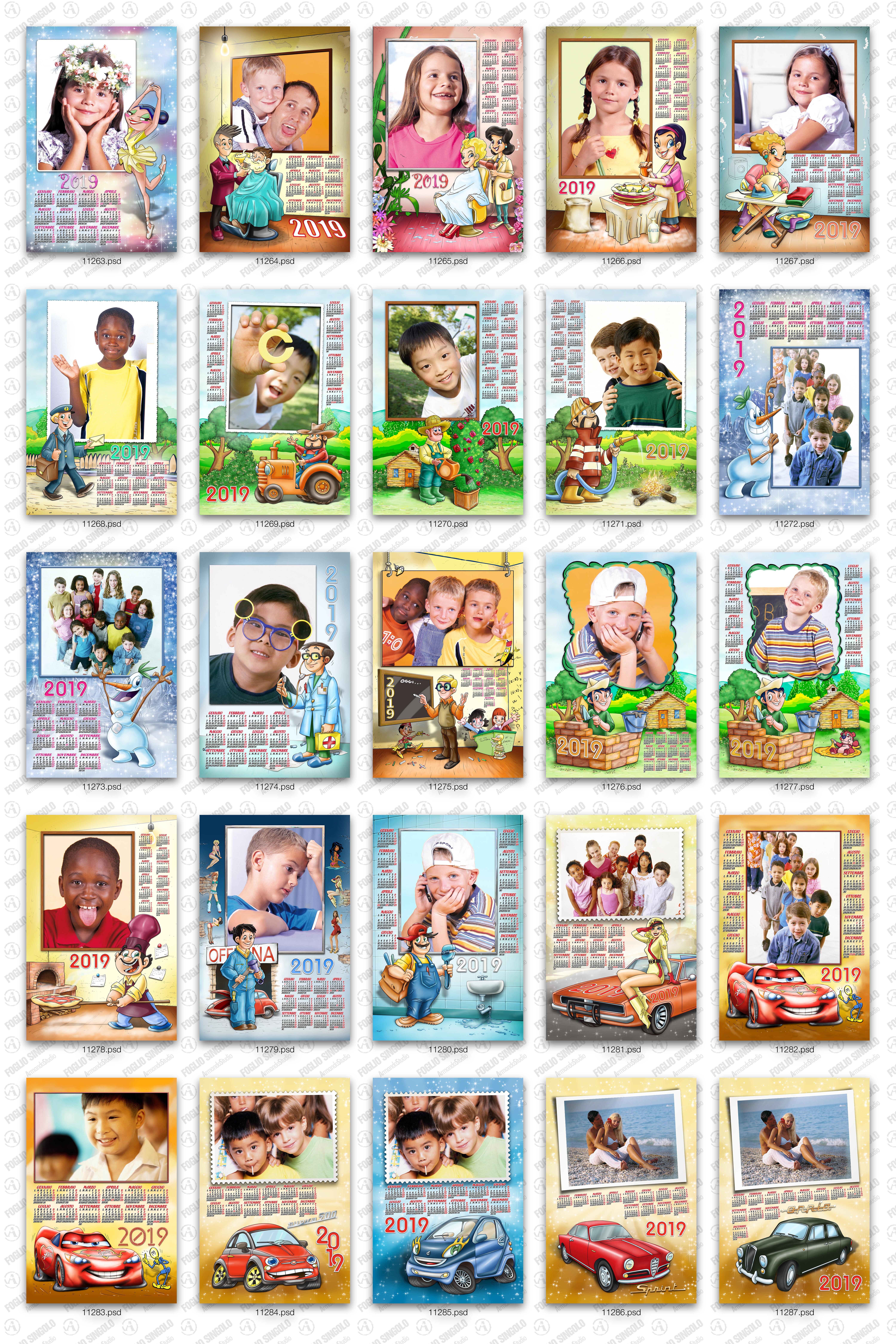 Calendario Personalizzato fotografico con foto e frasi | AcDigitale