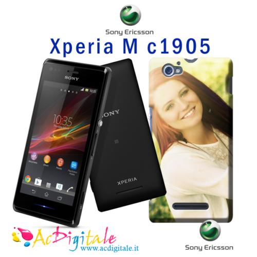 cover personalizzata Xperia M c1905 in