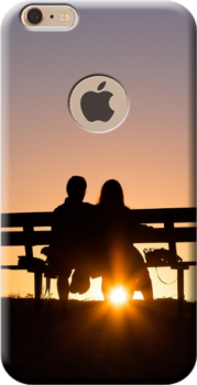 iPhone 6 plus cover personalizzata con buco