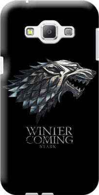 Cover personalizzata galaxy A8 Winter Coming stark