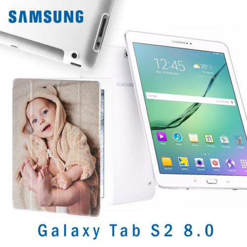 custodia smart cover personalizzata Tab S2 8.0