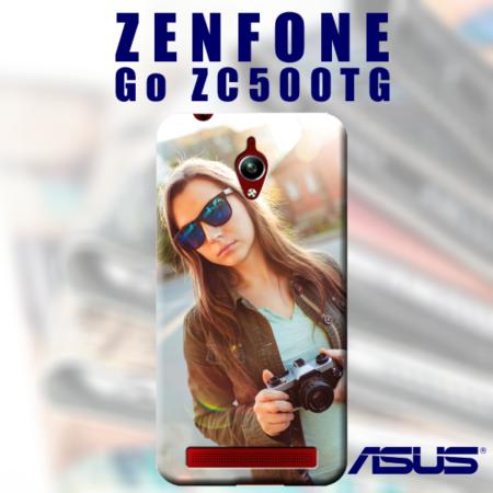 Cover morbida personalizzata zenfone go ZC500TG