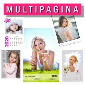 calendario personalizzato multipagina 2020