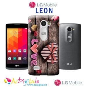cover personalizzata Lg Leon