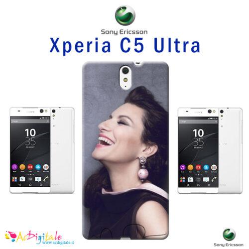 cover personalizzata C5 ultra sony