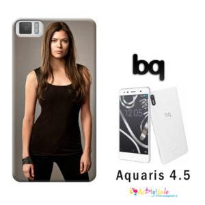 cover personalizzata Aquaris M4.5