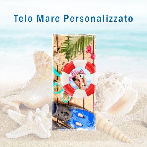 Telo mare Personalizzato con foto