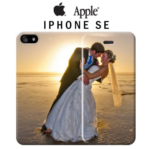 covera libro iPhone SE personalizzata