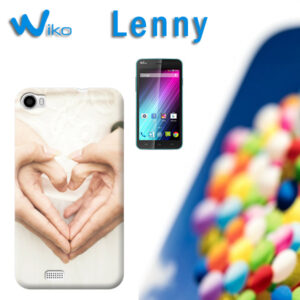 cover personalizzata wiko lenny