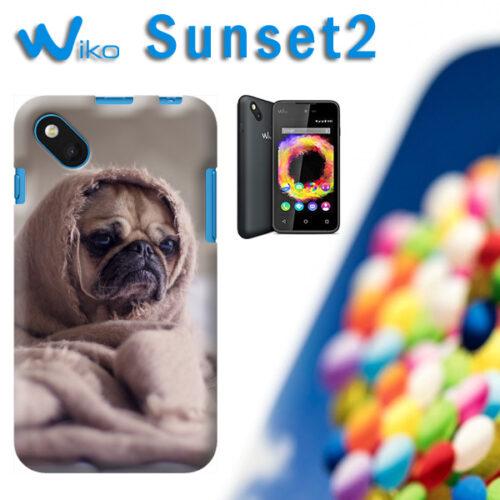 cover personalizzata Wiko Sunset 2