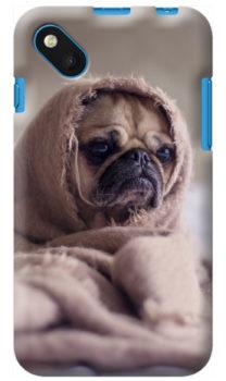 cover personalizzata wiko sunset 2con il tuo cane
