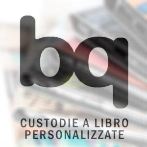 Custodie a libro per bq