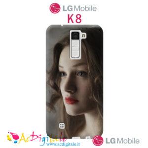cover personalizzata lg k8