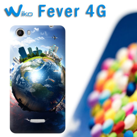 cover personalizzata WIKO Fever 4G