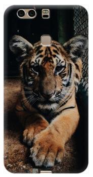 cover personalizzata Honor V8 con tigre