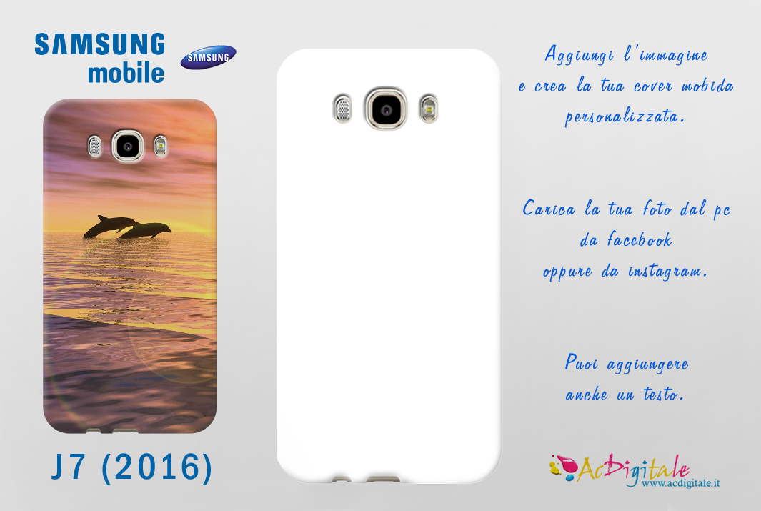 cover samsung j7 2016 personalizzate