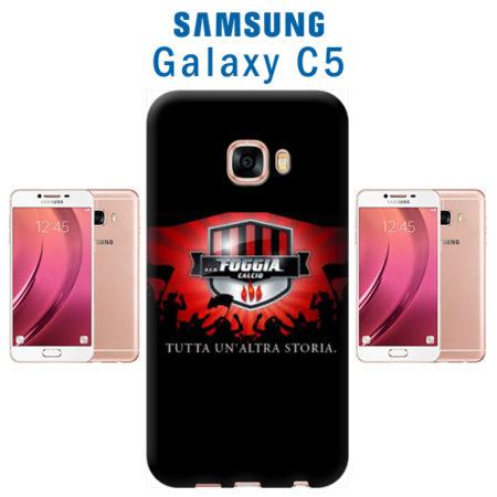 cover personalizzata galaxy C5