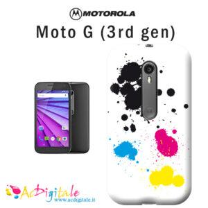 Cover personalizzata moto G