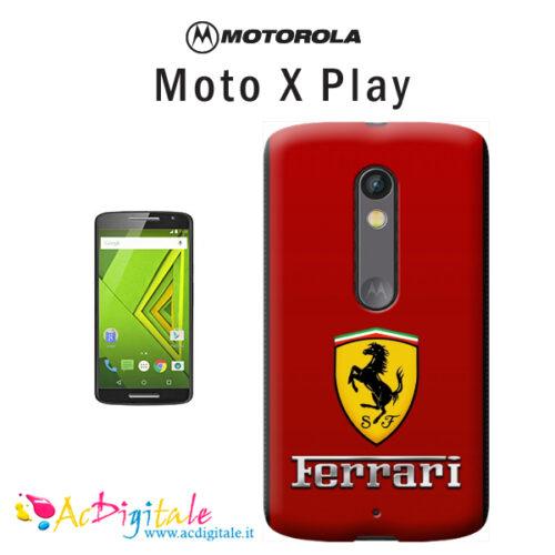 cover personalizzata moto X play