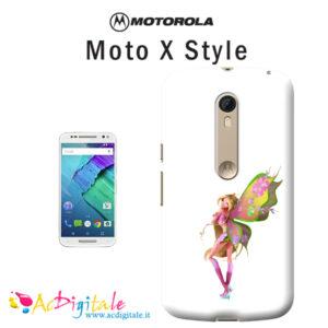cover personalizzata moto x style