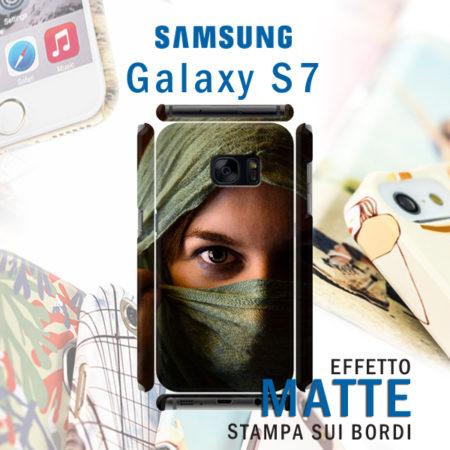 Cover rigida personalizzata Opaca Samsung Galaxy S7
