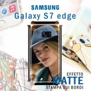cover personalizzata rigida opaca per galaxy S7 edge