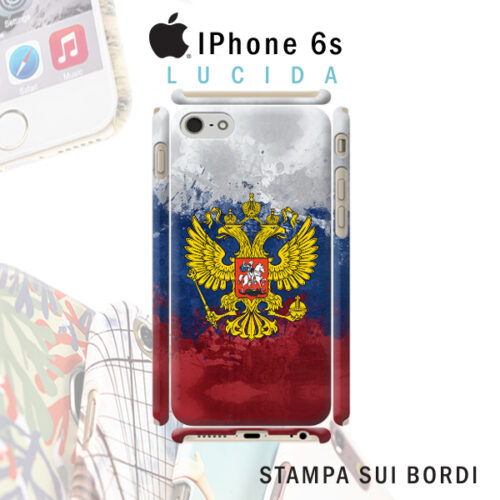 cover personalizzata rigida iPhone 6s stampa sui bordi