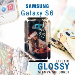 cover rigida personalizzata galaxy s6 lucida