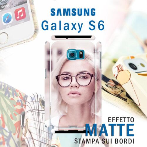 Cover personalizzata rigida Opaca Samsung Galaxy S6