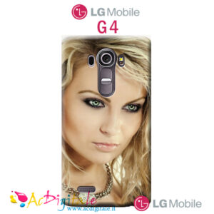 acquista online una cover morbida personalizzata per Lg G4