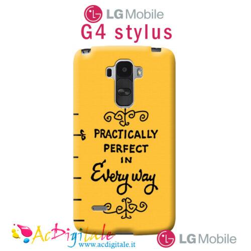 cover personalizzata Lg G4 Stylus