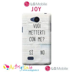 cover personalizzata LG Joy