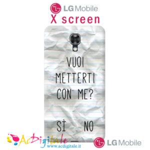 cover personalizzata X Screen