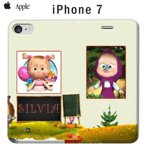 custodia a libro personalizzata per iPhone 7