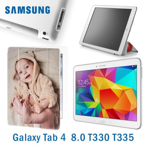 custodia personalizzata Galaxy Tab 4 8.0 T330 T335