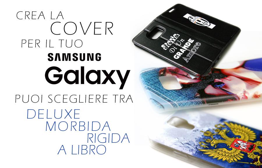 Crea la tua cover personalizzata per samsung galaxy