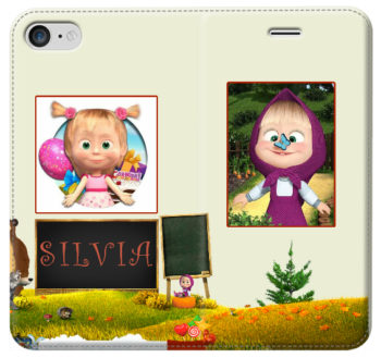 iphone-7-cover a libro personalizzata