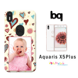 cover personalizzata aquaris X% plus