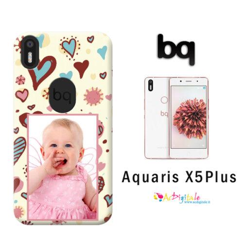 cover personalizzata aquaris X% plus