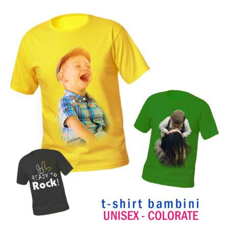 t-shirt personalizzate colorate per bambini