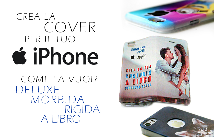 cover personalizzate Apple iPhone