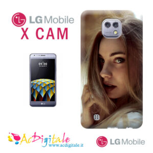 cover personalizzata per LG X-cam