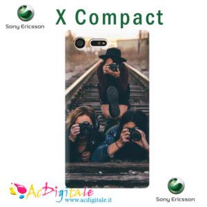 cover personalizzata sony X compact
