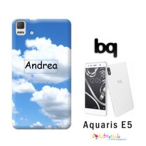Cover personalizzata Aquaris E5