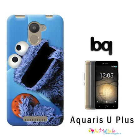cover personalizzata Aquaris U Plus