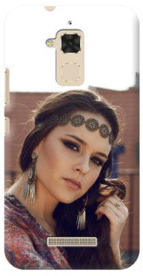 Cover personalizzata asus pegasus s con foto donna