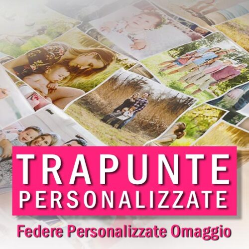 acquista online trapunta e federe personalizzate con foto